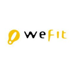 Regular logo wefit branco 200